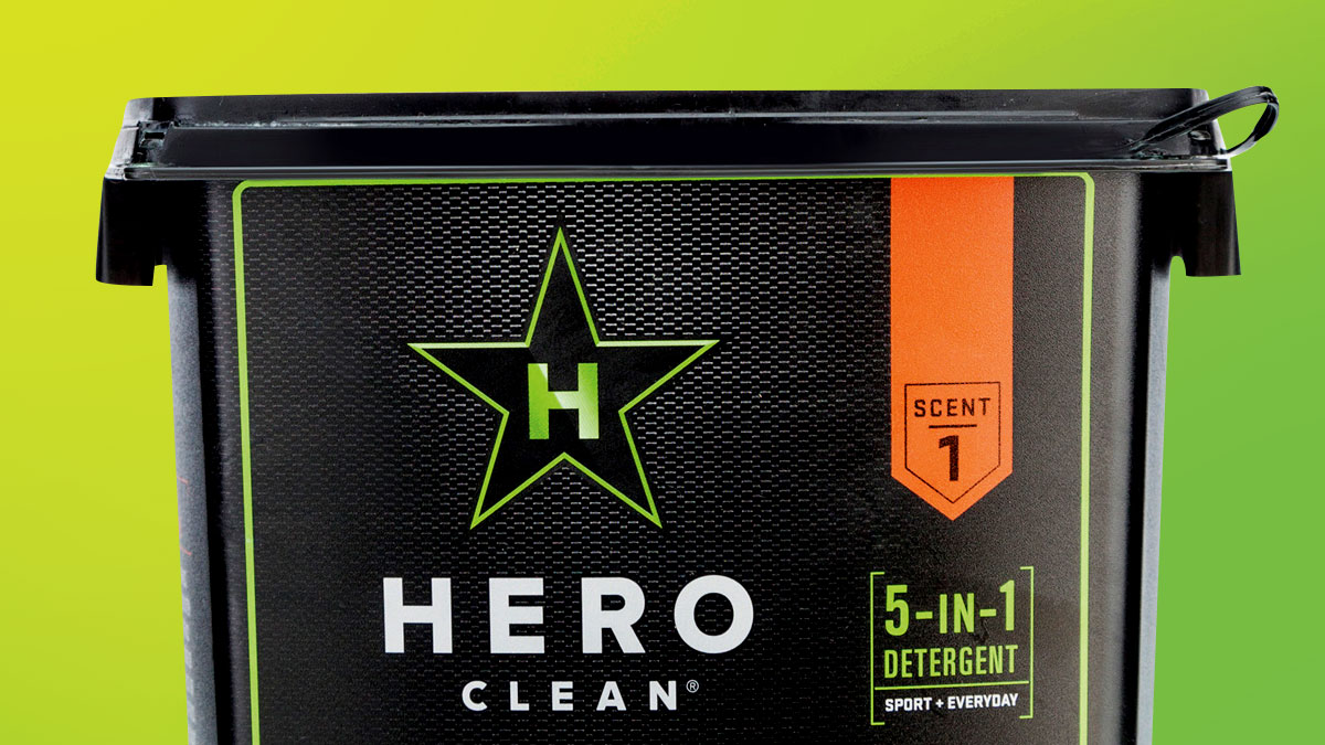 Packaging World – Special Ops-Tested Laundry Detergent Tub Exudes Masculinity