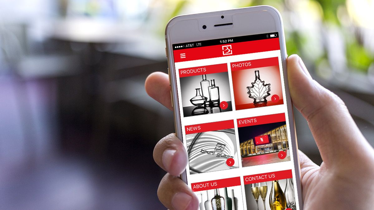 Berlin Packaging Launches New Bruni Glass App for iOS