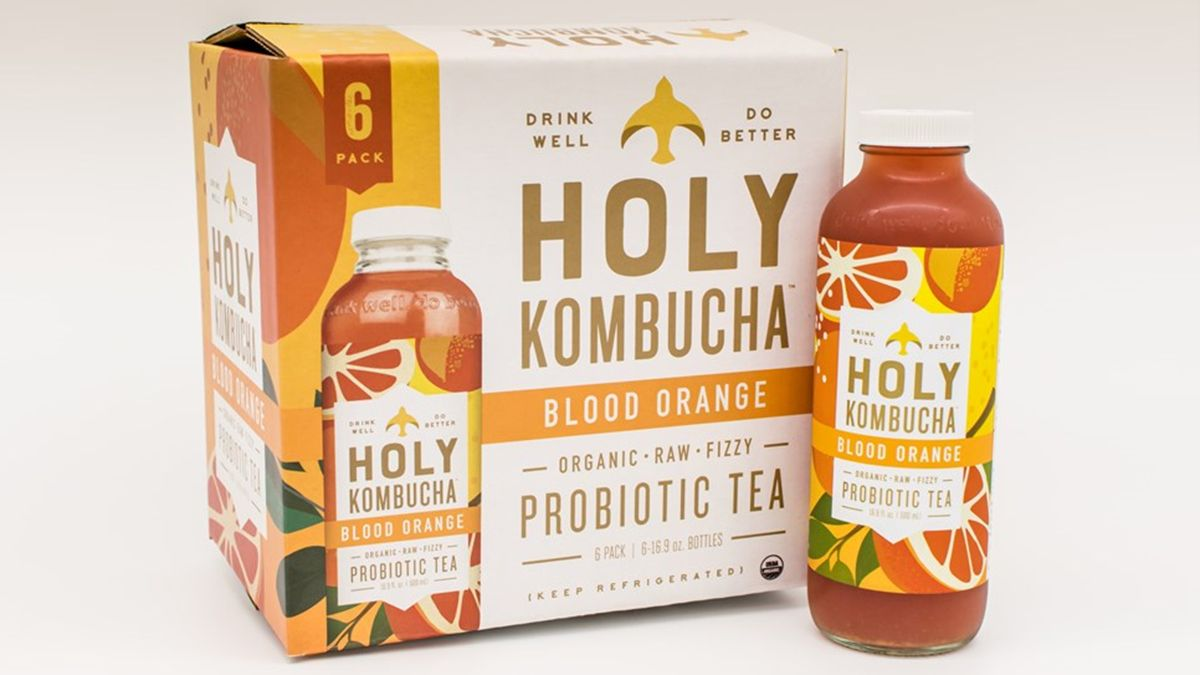 Packaging Strategies – Holy Kombucha Gets Redesigned Bottle for Wider Audience Appeal