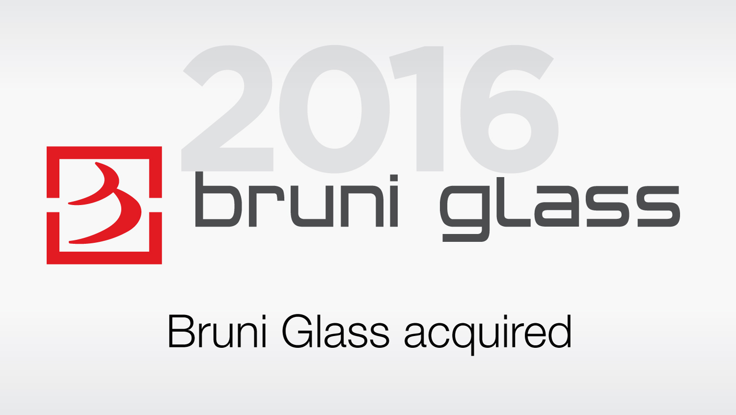 Bruni Glass acquired