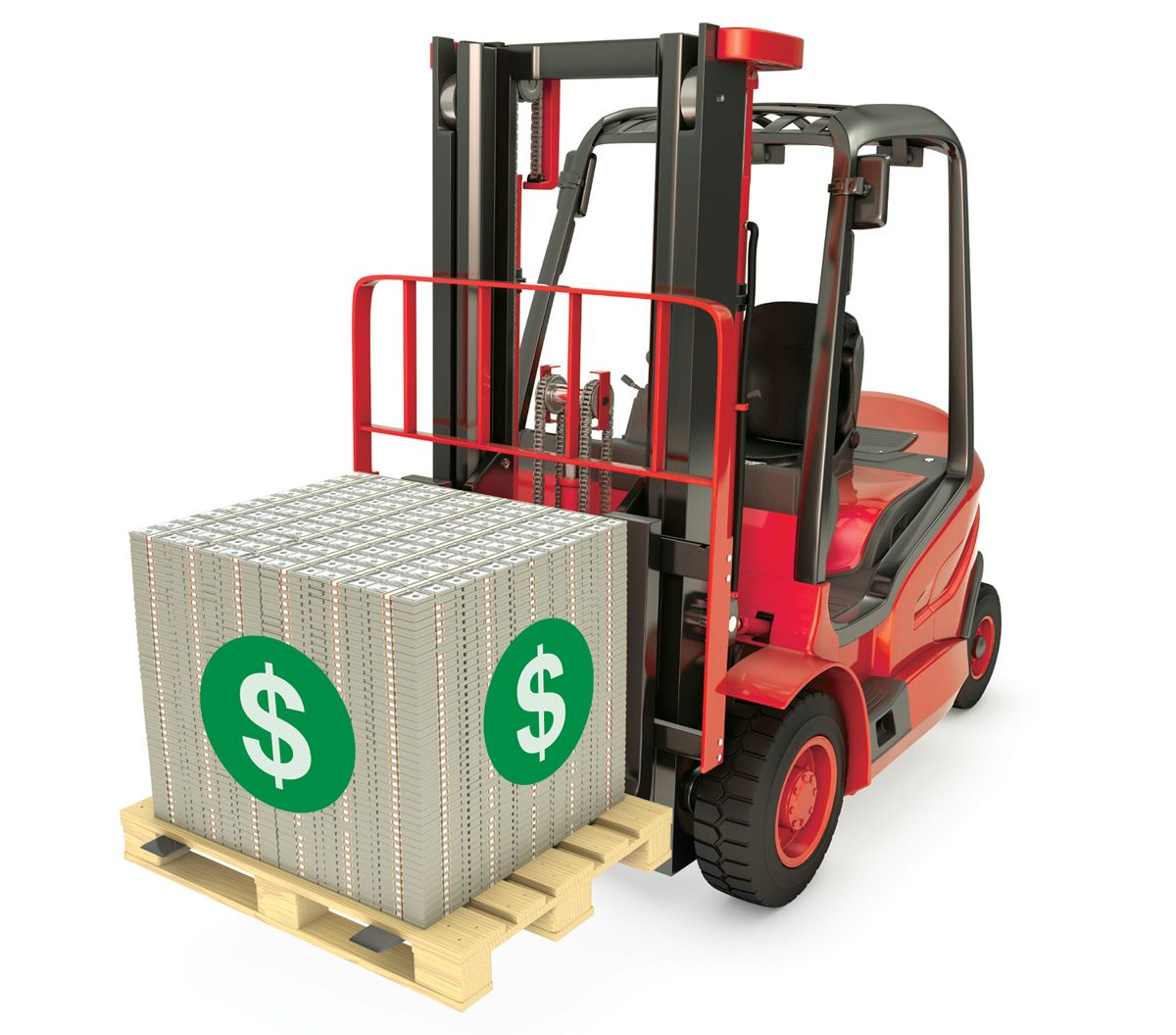 Money Forklift
