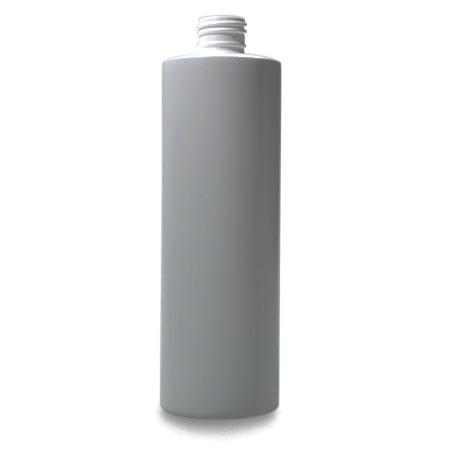 12 oz White HDPE Cylinder
