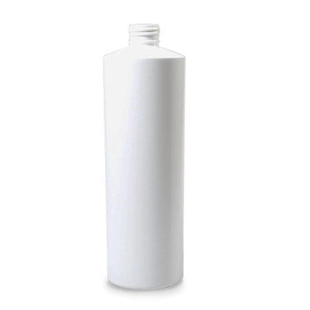 16 oz White HDPE Cylinder