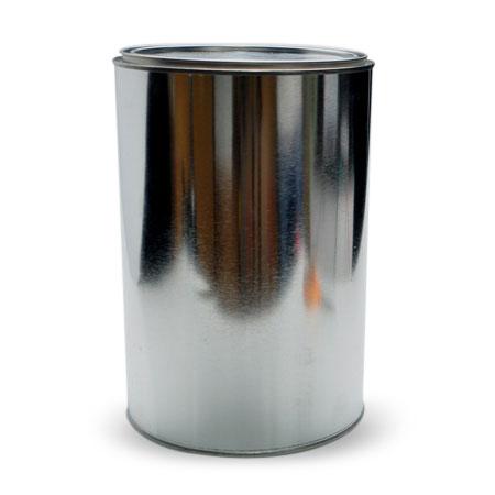 1 gal Silver TIn Open HeadCan
