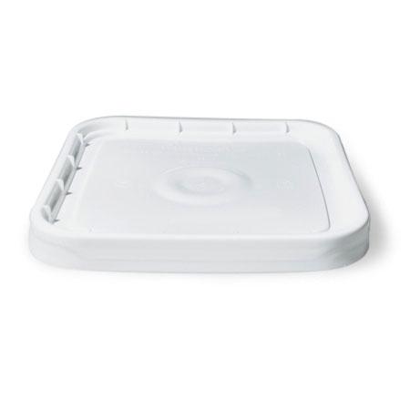 4 gal White HDPE Lid