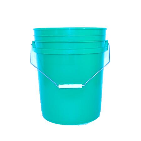 5 gal Green HDPE Open HeadPail