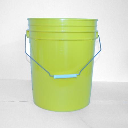 5 gal Yellow HDPE Open HeadPail