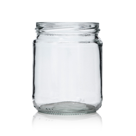 16 oz Flint Glass Jar