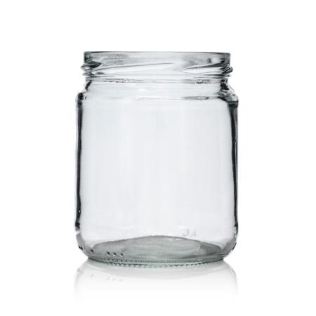 16 oz Flint Glass Jar