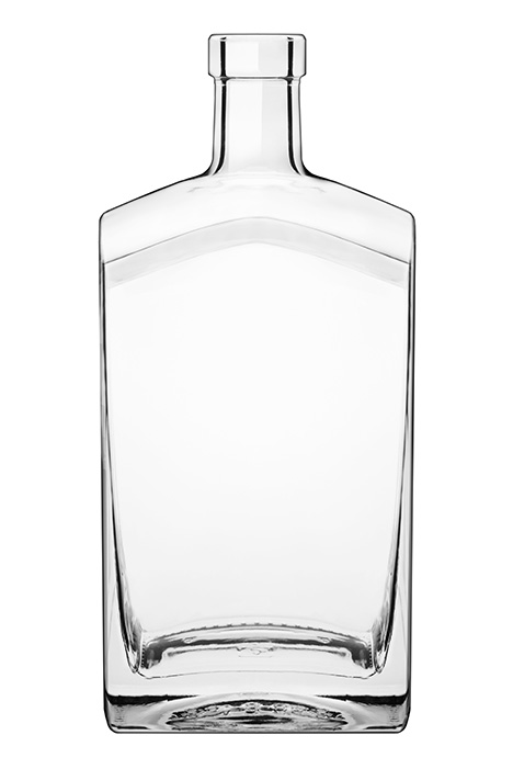750 ml Flint Glass Desiree
