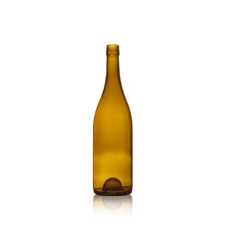 750 ml Glass Burgundy Rope  - 2105