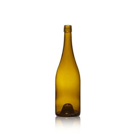 750 ml Glass Burgundy Rope  - 2109